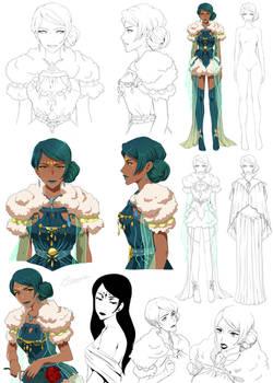 Queen lady - Imogen