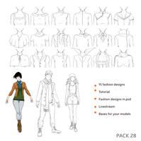 28 pack - Fashion by Precia-T