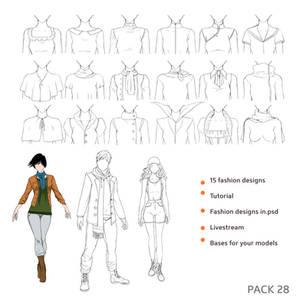 28 pack - Fashion