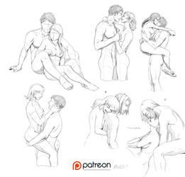 Couple poses by Precia-T