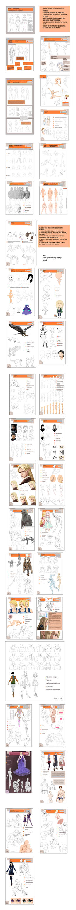 ANATOMY Packs 1-35 UPDATED by Precia-T