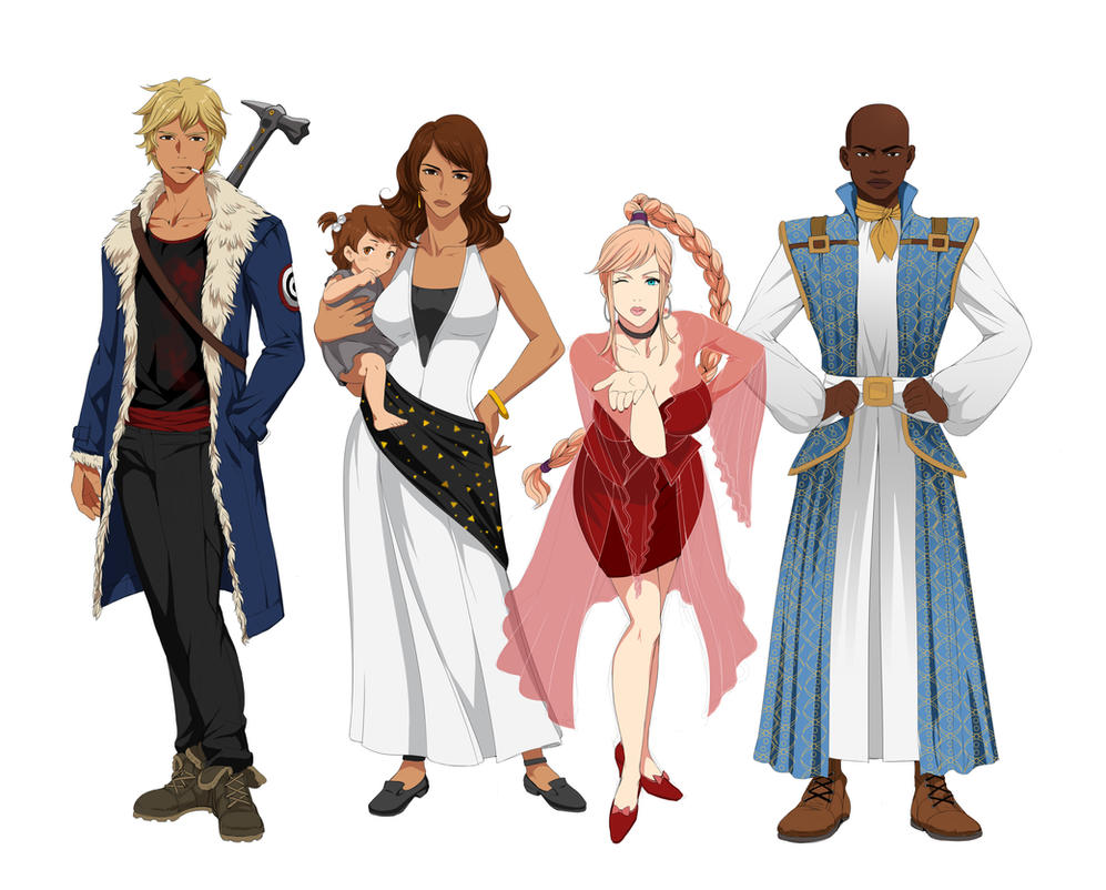 Character Design Commission Price : Character designs commission by precia t on deviantart