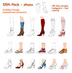 55th pack - shoes