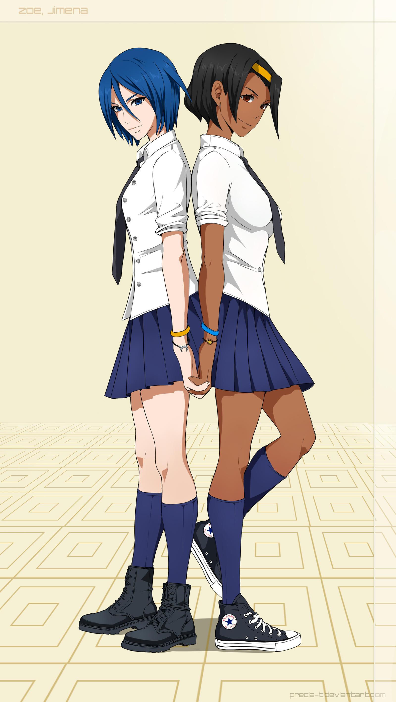 Zoe and Jimena - commission by Precia-T
