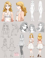 Daphne - charactr sheet by Precia-T