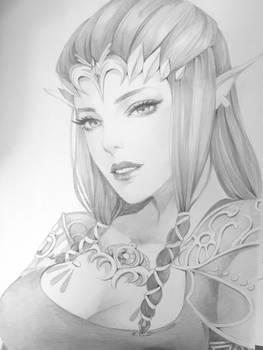 Zelda - pencil