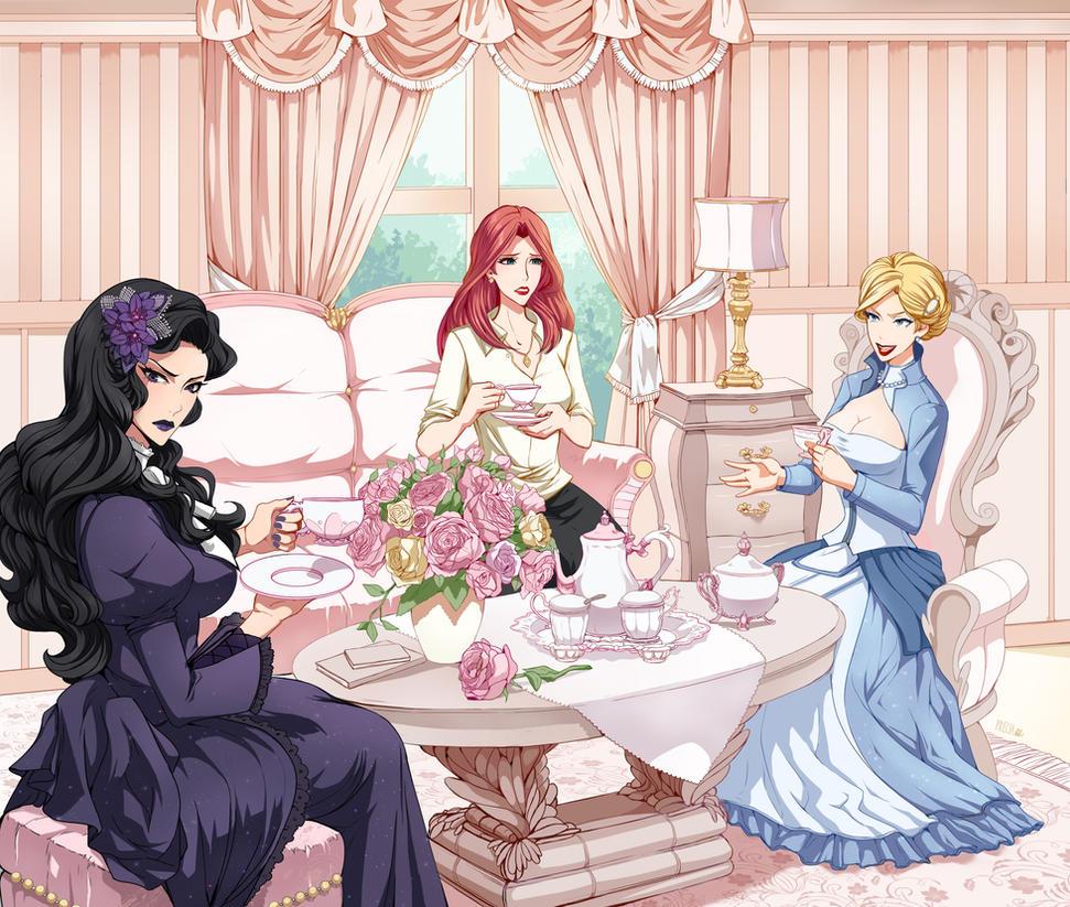 Tea time - Commission by Precia-T