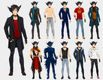 Kain's wardrobe - commission by Precia-T