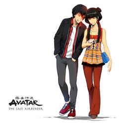 Zuko x Mai - Avatar fanart