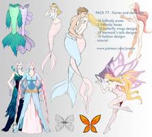 77th pack - Mermaids and Fairies