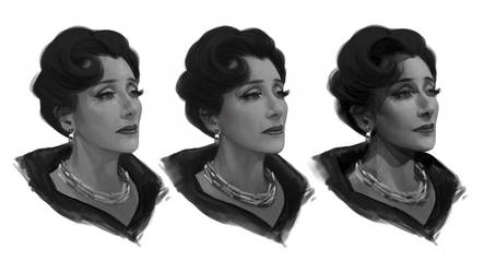 Cruella - Baroness - painting styles