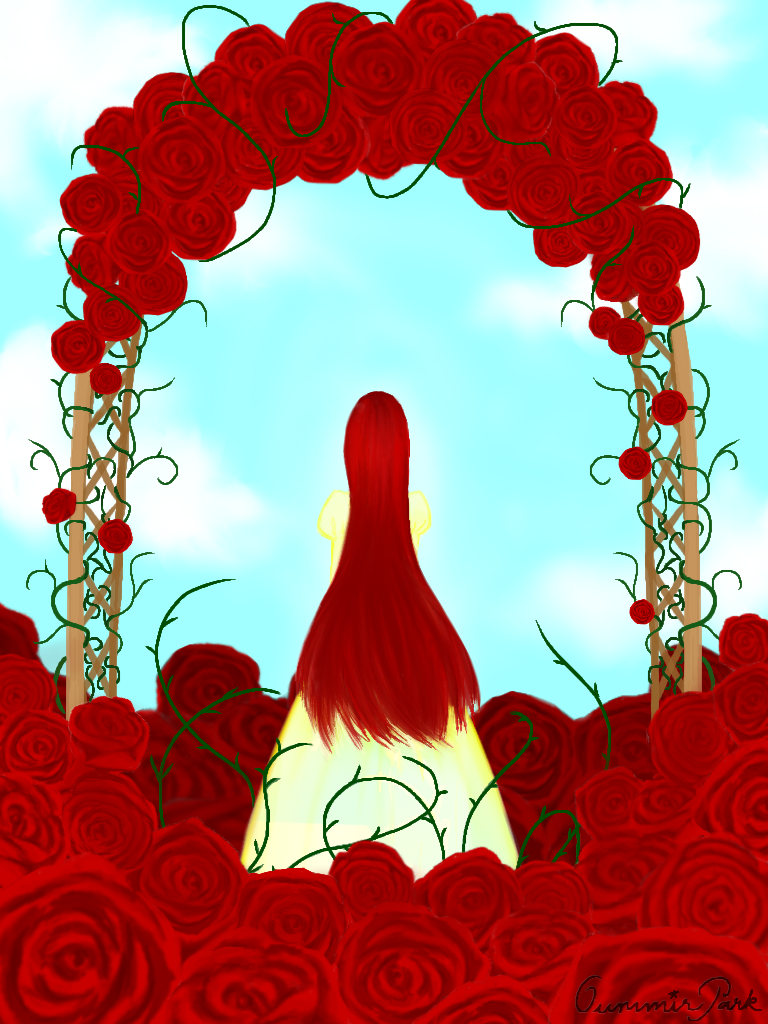 Rose Lady By Oummirpark On Deviantart