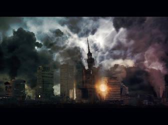 Destroyed Warsaw.