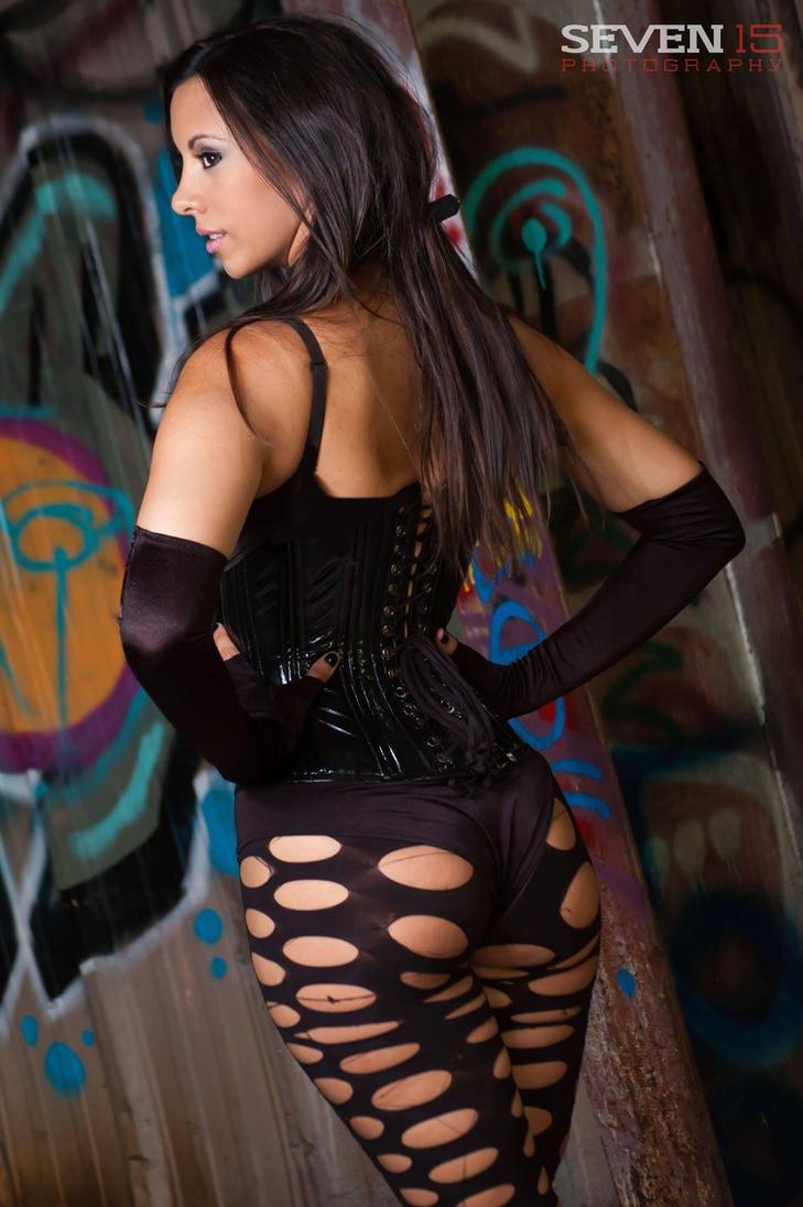 Kerri Taylor Fishnet by modelkerritaylor