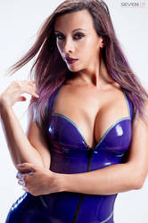 Kerri taylor Purple Web (1) by modelkerritaylor