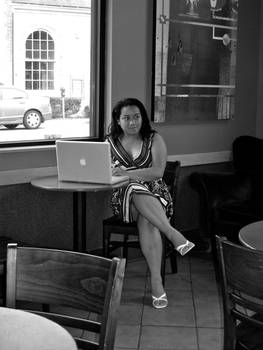 Camouflage 2- Coffee Shop Lady