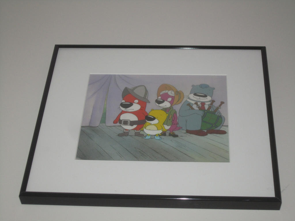 "My PB&J Otter animation cel from ""Howdy HooHaw Day"" 1_by_cdcb-d6cb9fo"