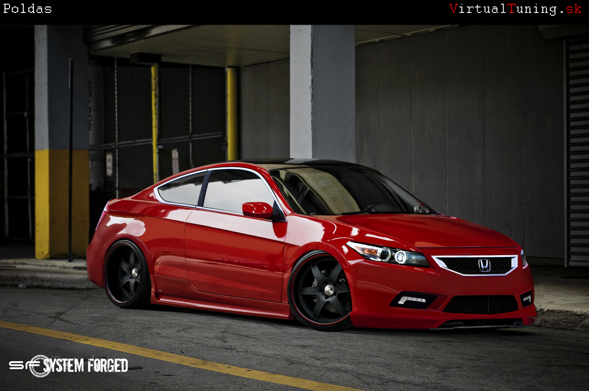 Honda Accord By Poldassvk On Deviantart