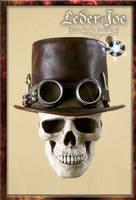 Steampunk Tophat -1 by Leder-Joe