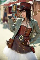 Steampunk-Lady 2