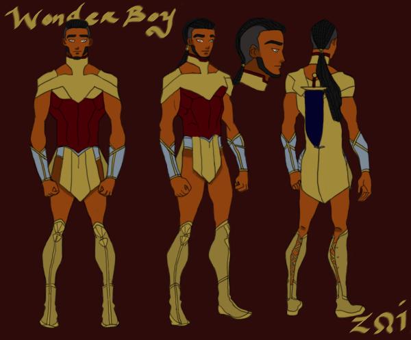 CW Wonder Boy or Man by BIackUsagi