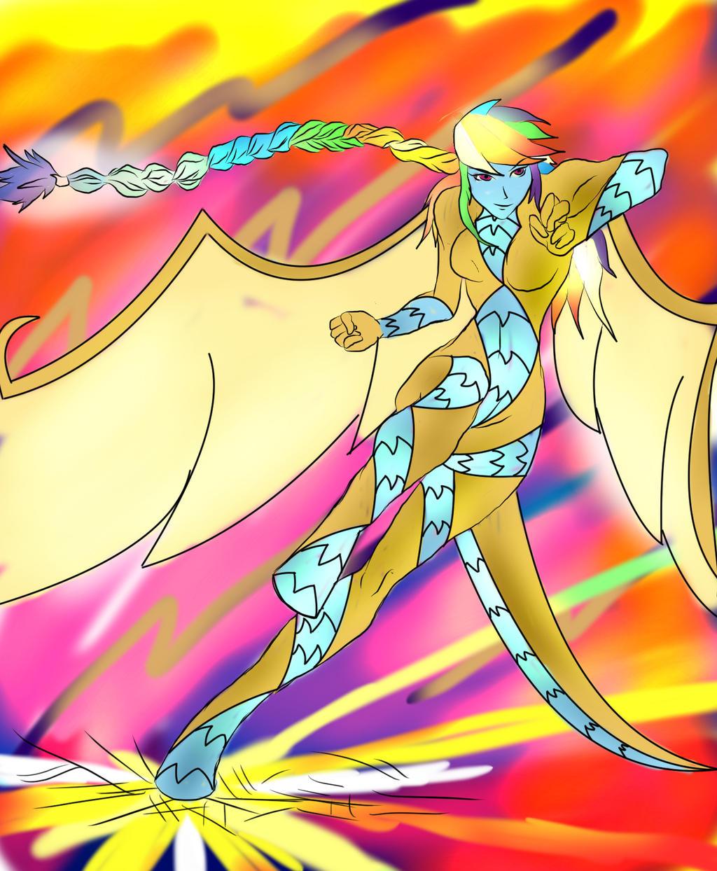 Mlp Fusion: Rainbow Ember