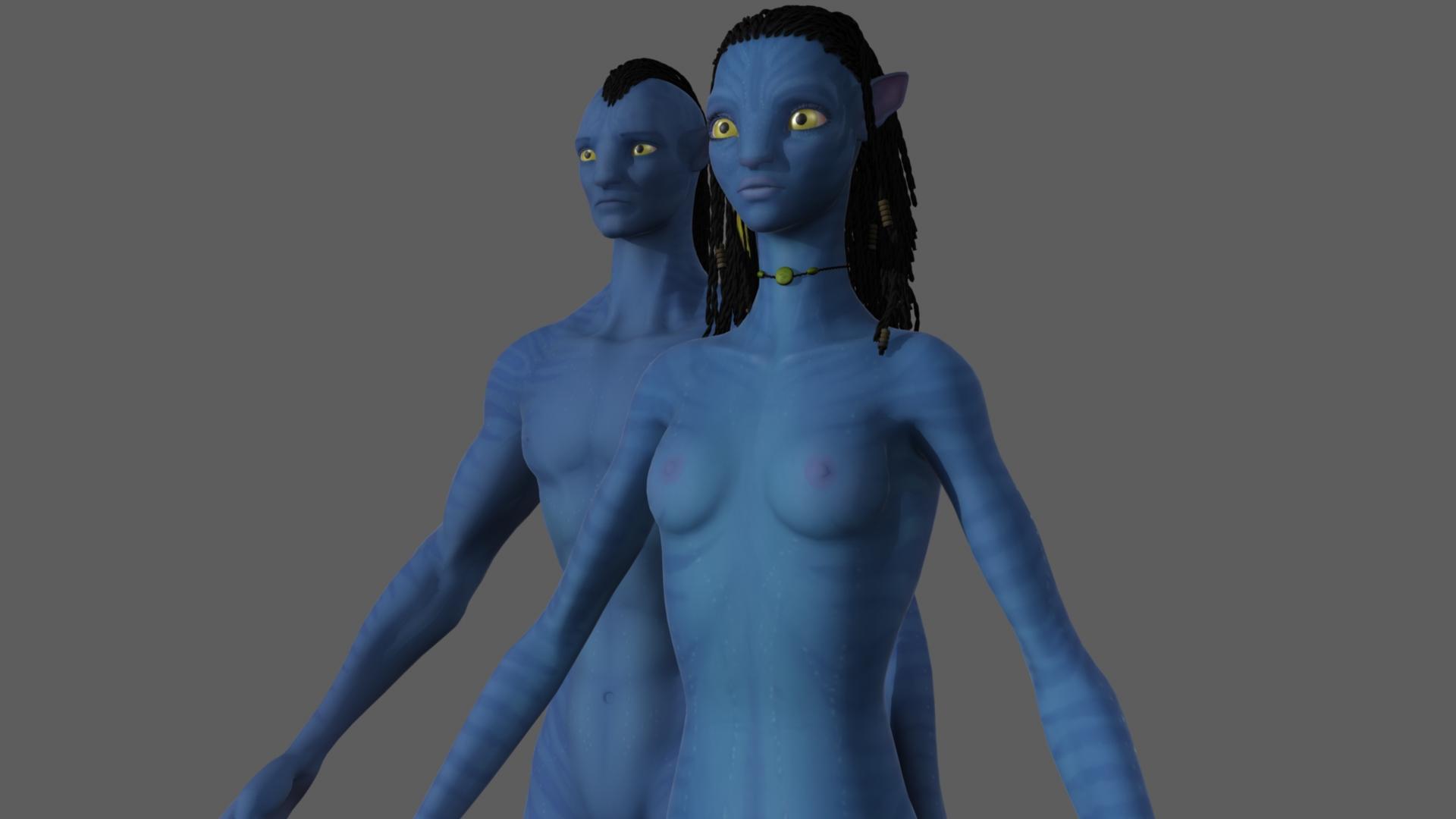 Naked avatar neytiri