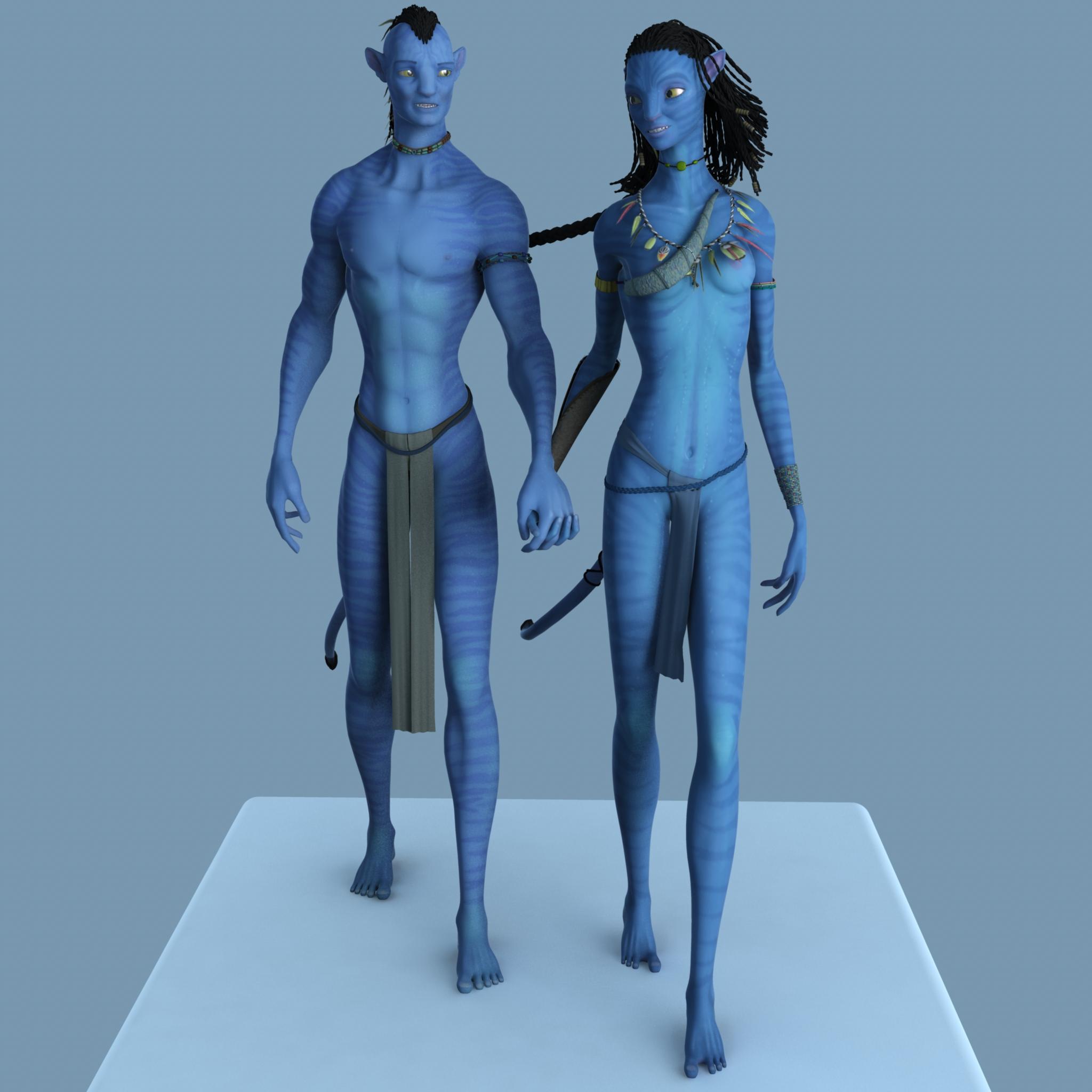 Avatar Neytiri Full Body