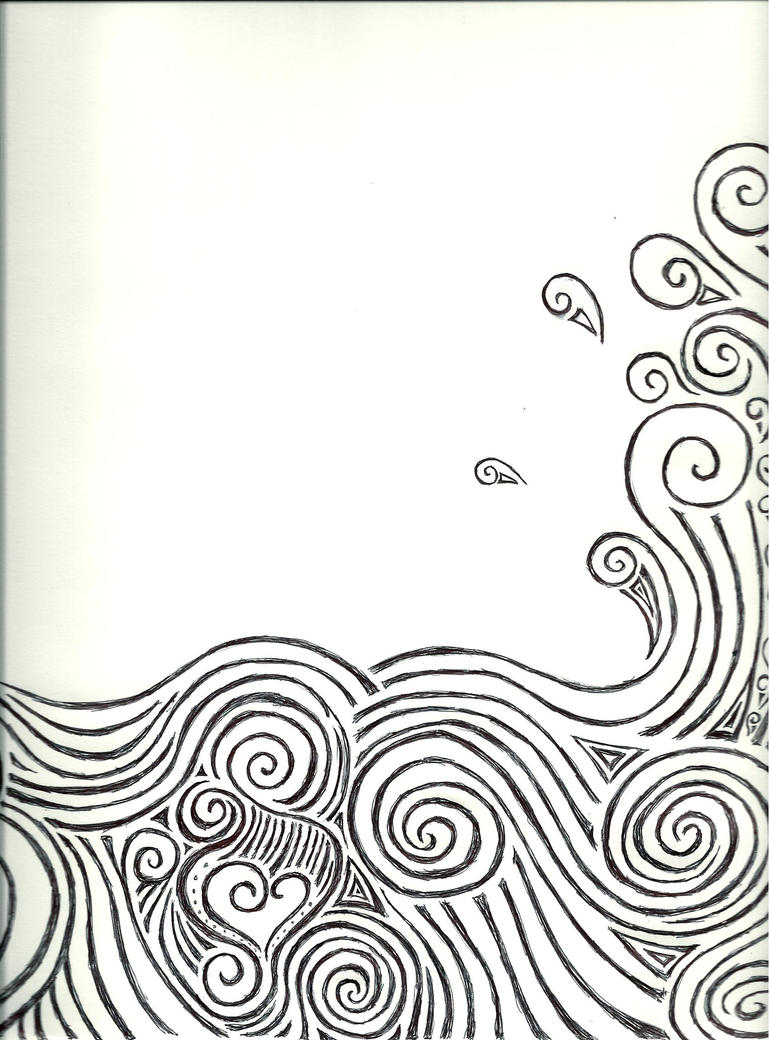 Wave Drawing Simple