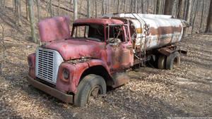LR - Abandoned fuel truck by NickACJones