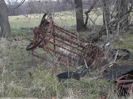 Old farm equipment by NickACJones