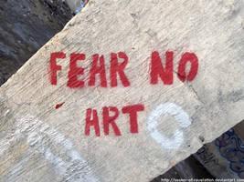 NP - FEAR NO ART by NickACJones