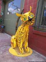 Wheeled cat by NickACJones