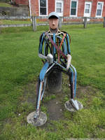 Drunken hobo robot by NickACJones