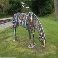 Wheelguts the horse by NickACJones
