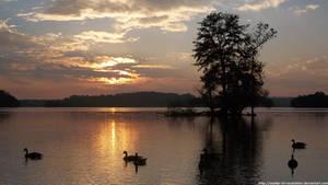 Evening at Loch Raven by NickACJones