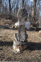 Eagle totem by NickACJones