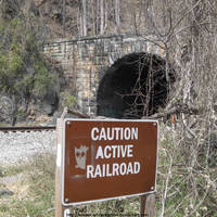 Patapsco railroad tunnel by NickACJones