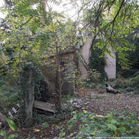 Gardener's cottage backyard by NickACJones
