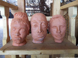 Severed heads by NickACJones