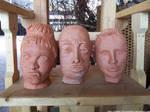 Severed heads by NickACJones