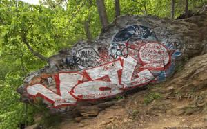 Unsightly graffiti by NickACJones