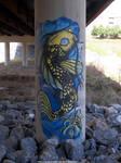 Catfish graffiti