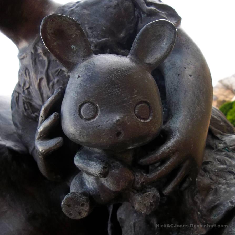 Scared bunny by NickACJones