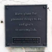 Motivational plaque by NickACJones