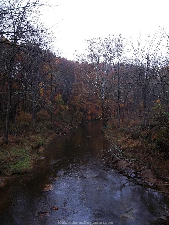 Autumn creek by NickACJones