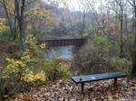 Bench and trestle by NickACJones
