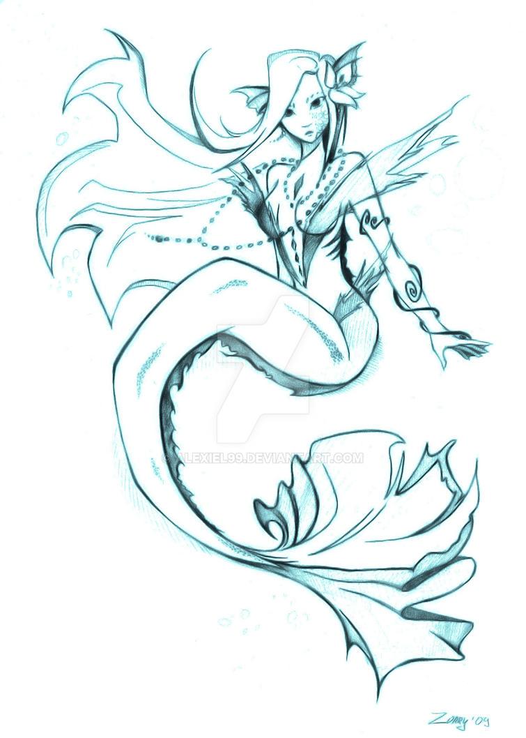 Mermaid by Alexiel99