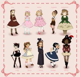Girls in Lolita by BoboSweet