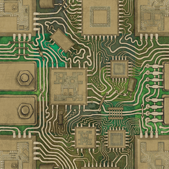 Circuit Tile by asylumseaker